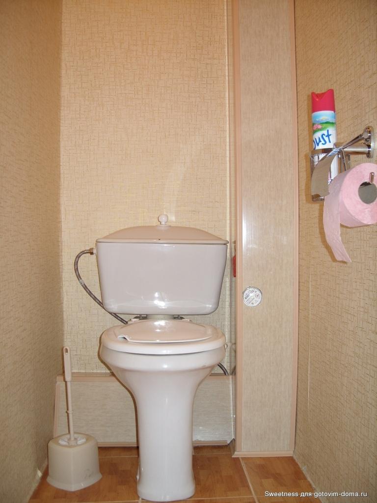 Недорогой ремонт туалета своими руками фото