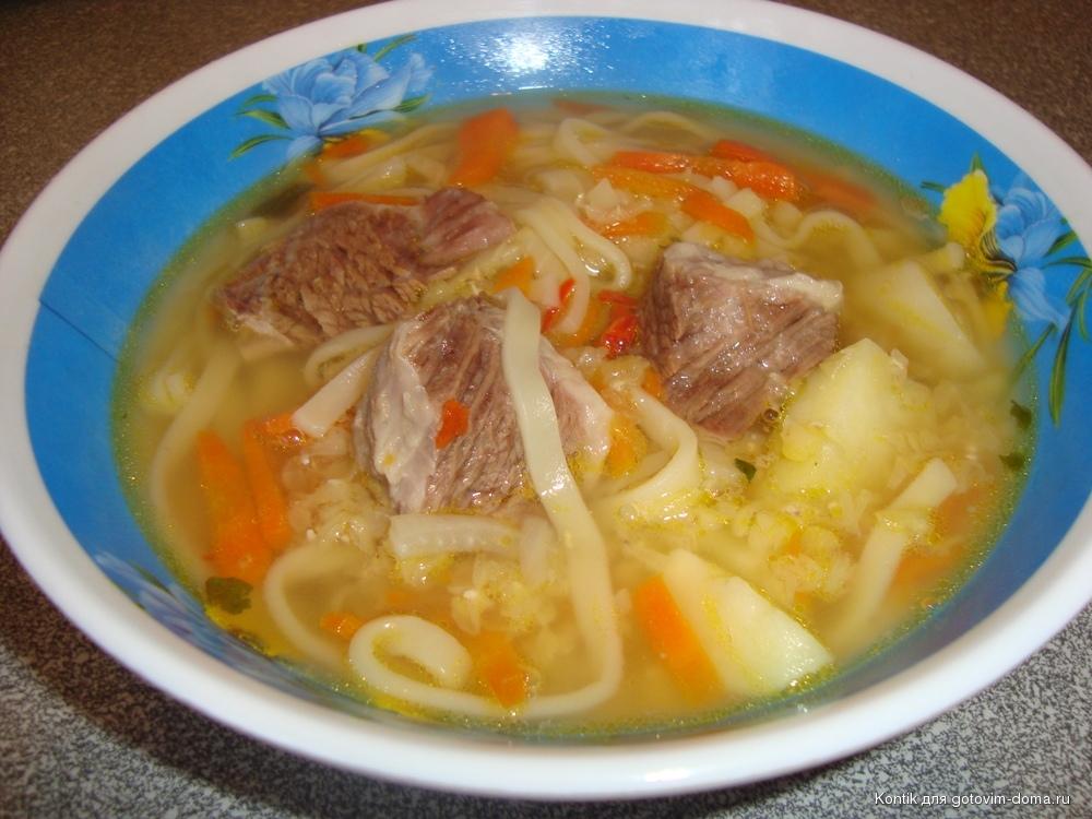 Вкусный суп с мясом рецепт с фото
