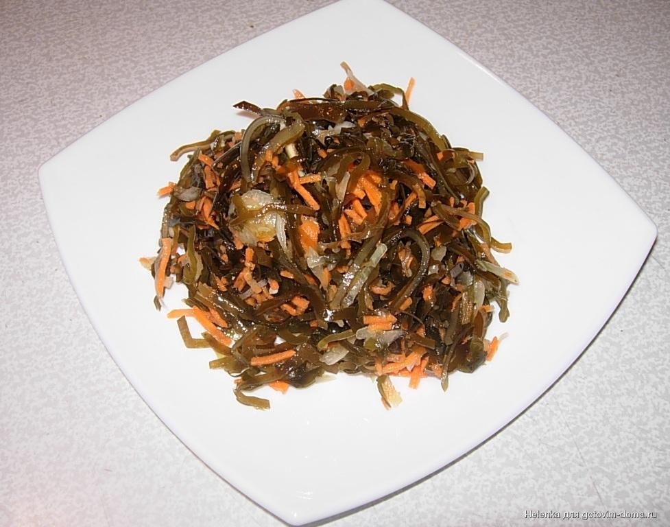 салат из морской капусты свежей