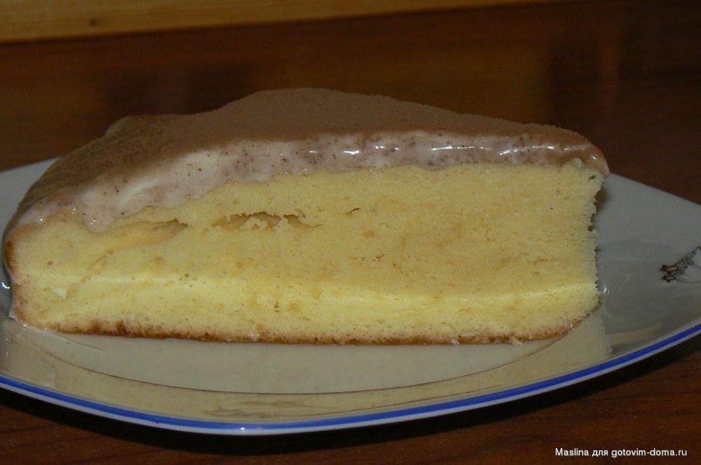 сметанный бисквит рецепт