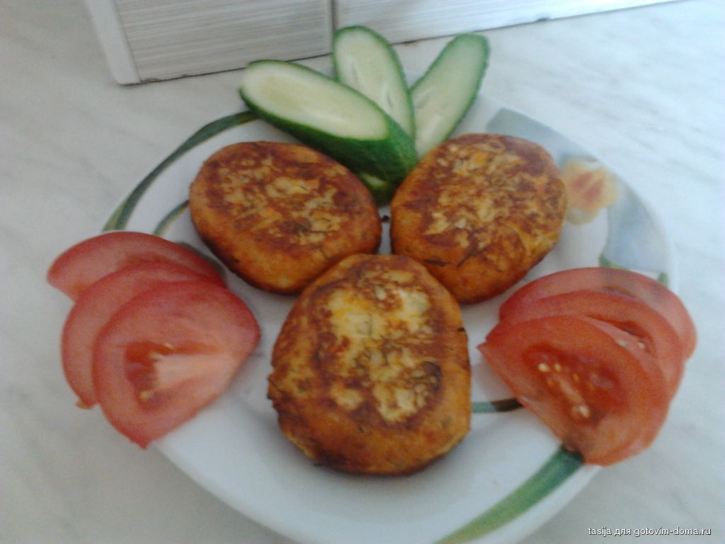 Картофельно морковные котлеты рецепт