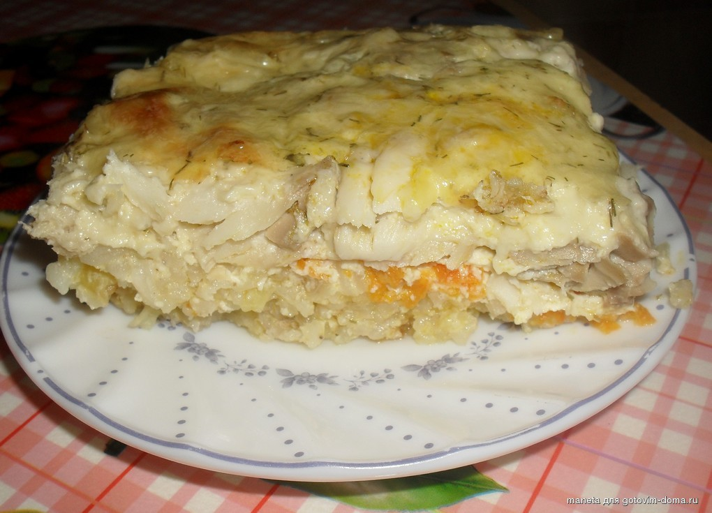 Рыбная запеканка с рисом - рецепт с фото 9