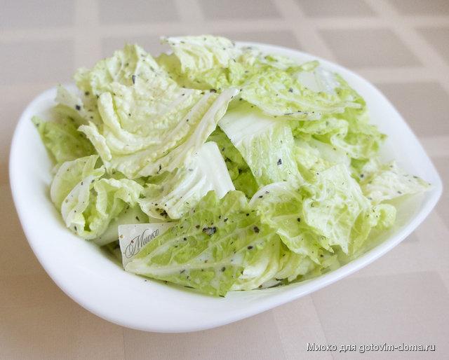 Салаты для похудения Рецепты салатов