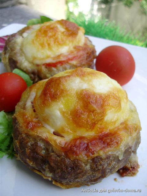 Гнездо мясом рецепт фото