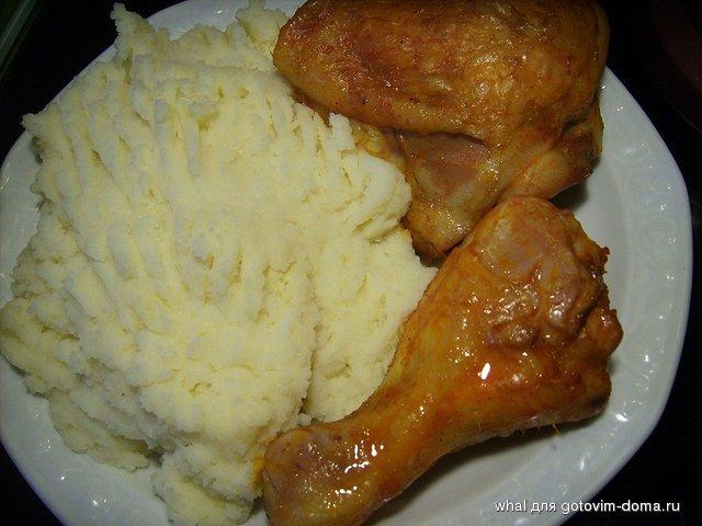 Картинки пюре с курицей