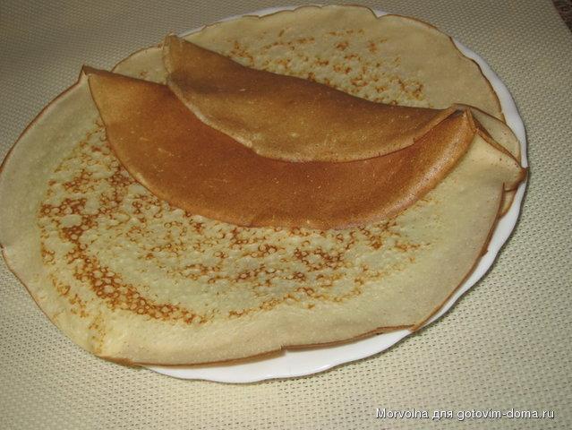 Тесто для блинов на сыворотке