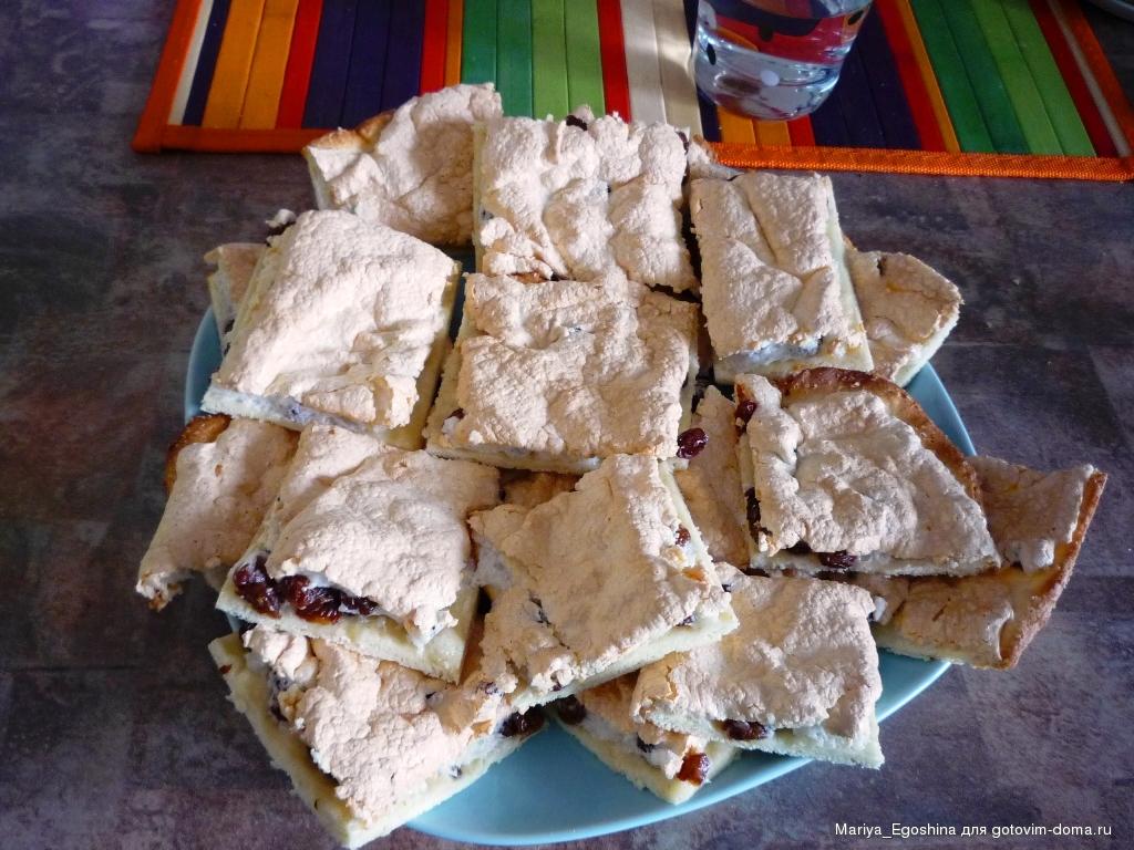 афганские печенья рецепт