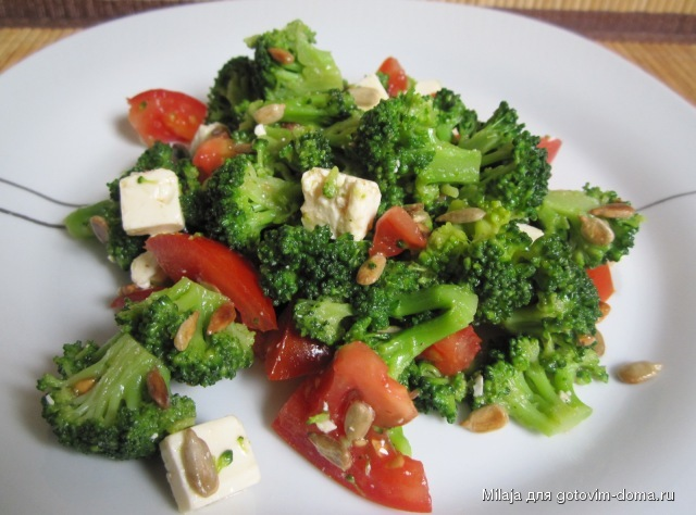 рецепты салатов с фетой и помидорами
