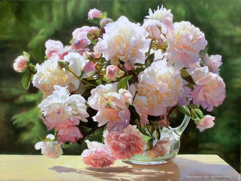 картинка букет тюльпанов и нарциссов