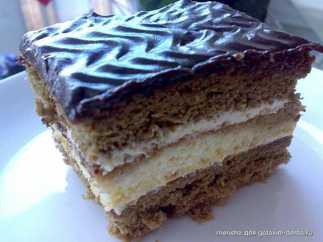 торт нескафе рецепт