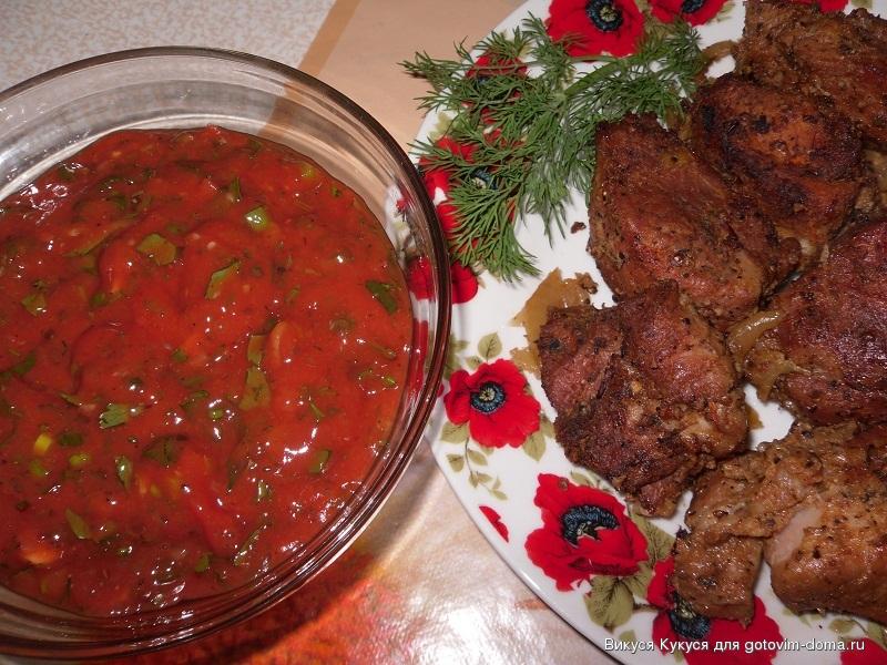 белый соус к шашлыку рецепт с фото