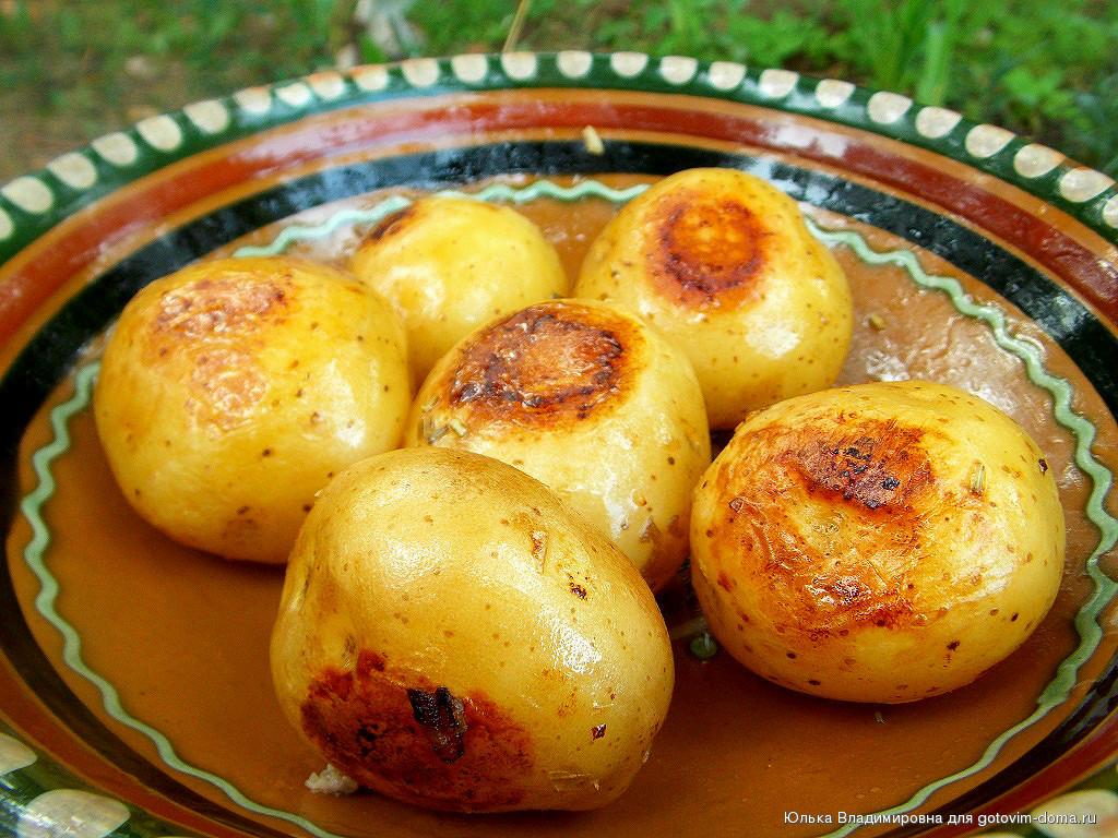 Молодой картофель рецепты с фото в мультиварке