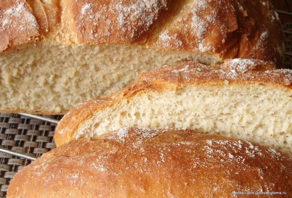 Хлеб на кефире с дрожжами в духовке рецепт