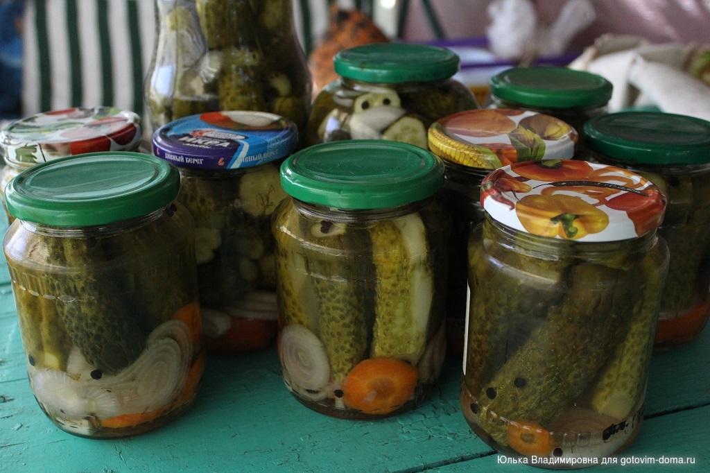 Огурцы по болгарски на зиму рецепт с фото