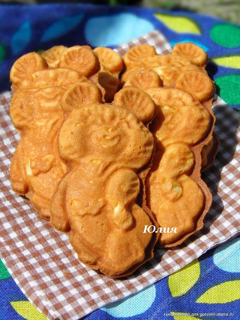 Печенье олимпийский мишка рецепт с фото