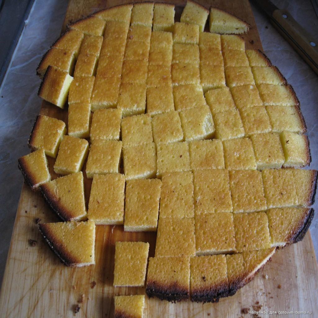 торт пуховик рецепт с фото
