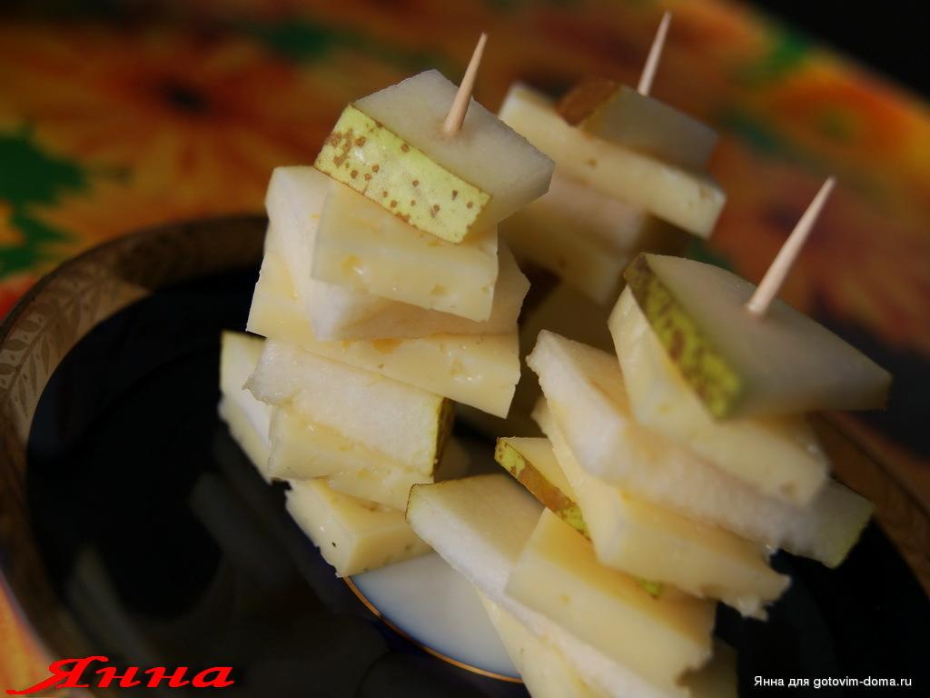 канапе рецепты с сыром и грушей фото максим признался