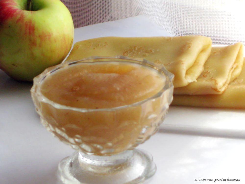 Яблочный мусс рецепт с фото пошагово