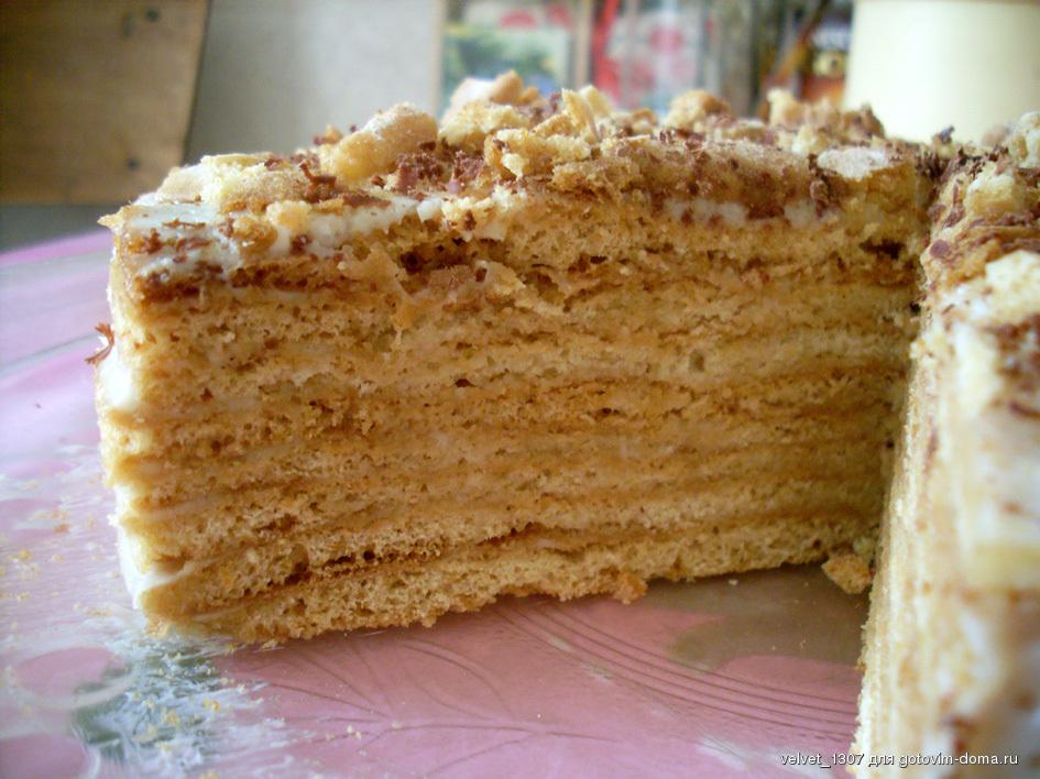 Медовик торт с медом