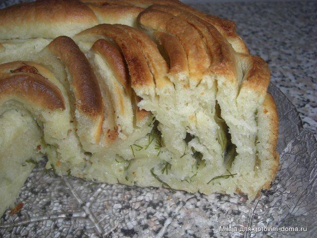 Хлеб Роза с сыром и укропом 2.JPG