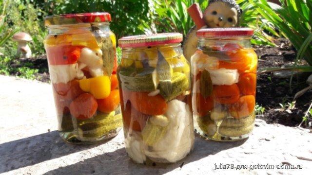Ассорти фруктово-овощное – кулинарный рецепт