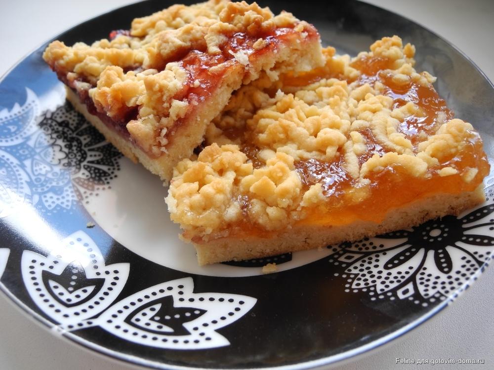 Пирог тертый на майонезе