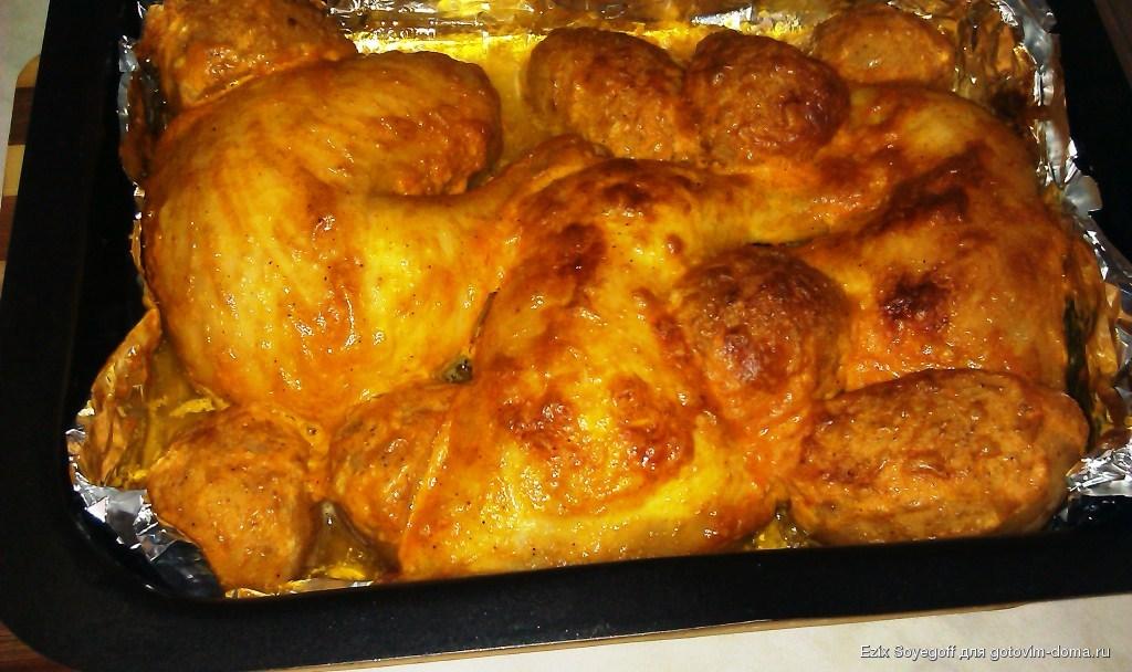 Окорочка с картошкой рецепты фото