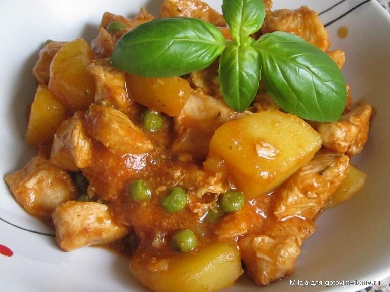 фото рецепты рагу с картошкой