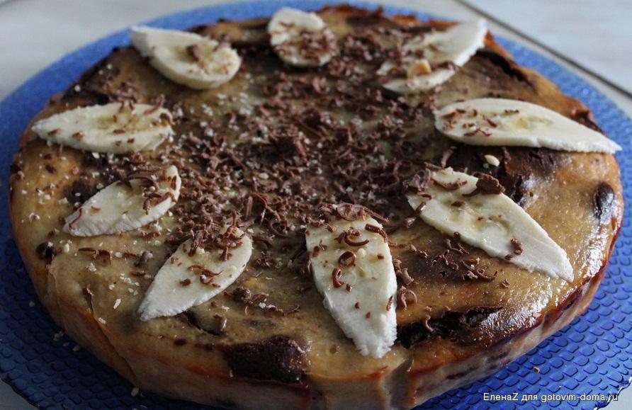 Пирог с какао рецепт с фото пошагово