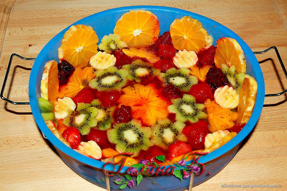Торты фруктовый рецепт