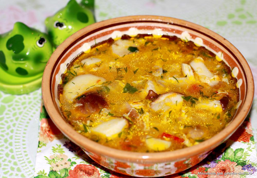 найти рецепт супа с рисом