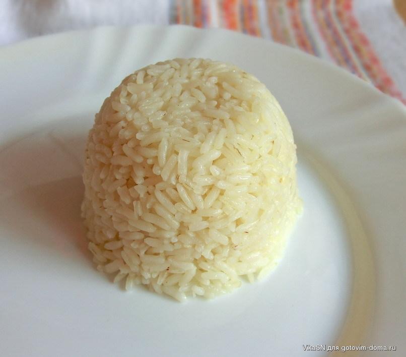 Рис круглый рассыпчатый рецепт с пошагово в