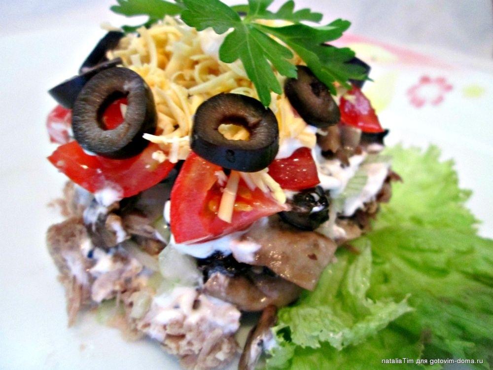 Салат французский мясом рецепт фото