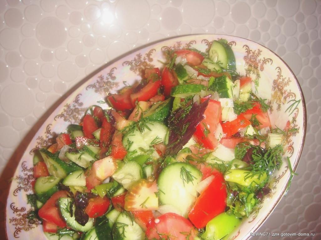 салаты азербайджанские рецепты с фото