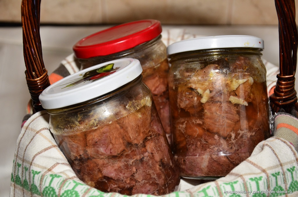 Как готовит тушенку говядиной в домашних условиях 741