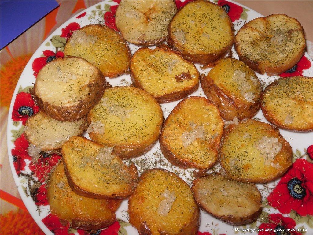 картошка к шашлыку рецепты с фото