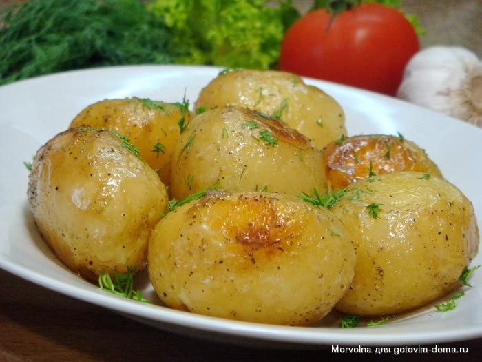 картофель в режиме выпечка в мультиварке рецепты