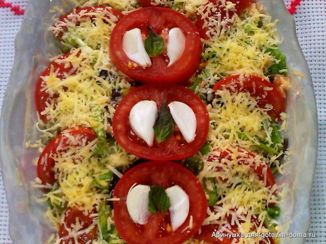 Салат римский рецепты