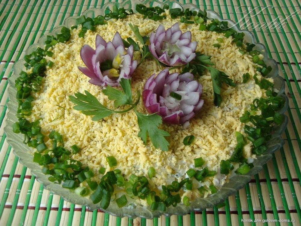 Салат с вареной рыбой и картошкой рецепт