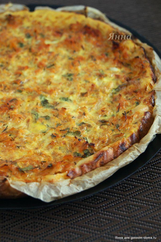 Диетический пирог с капустой рецепт с пошагово
