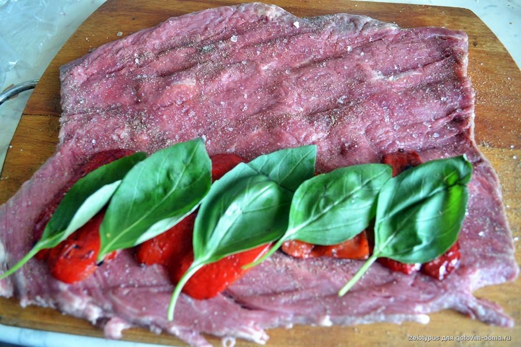 Блюда из говяжьей вырезки рецепты с фото