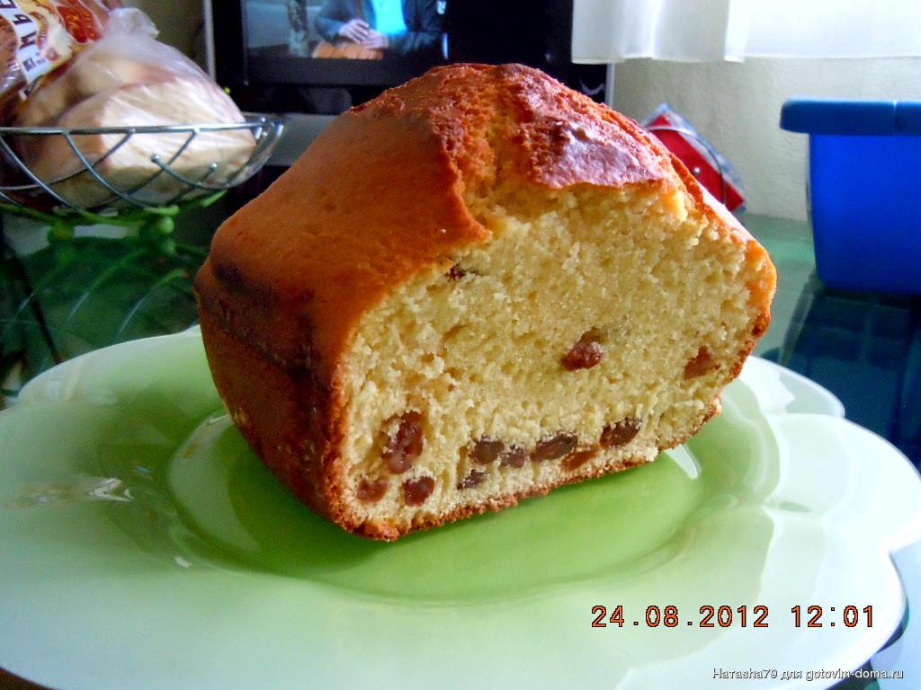 Кекса с изюмом для хлебопечки мулинекс
