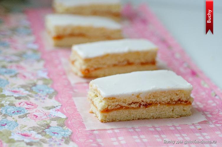 пирожное полоска песочная рецепт с фото