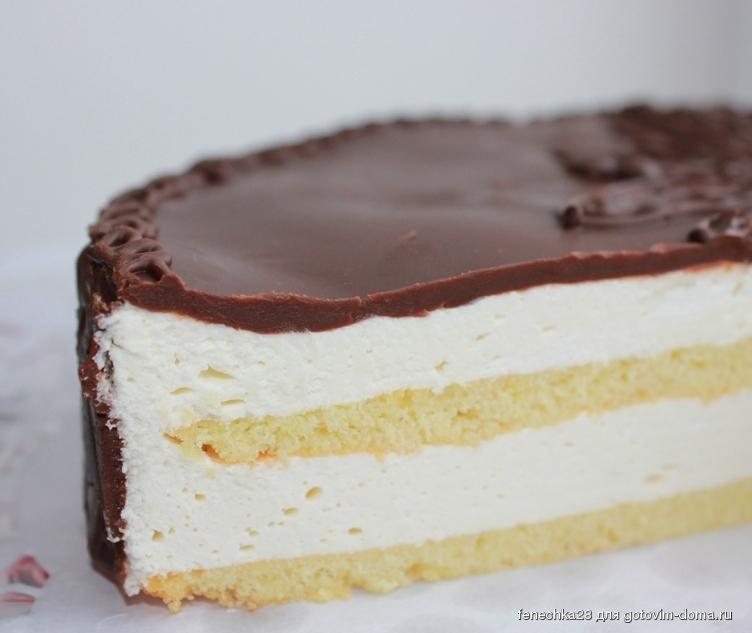 Сладкая выпечка торт птичье молоко