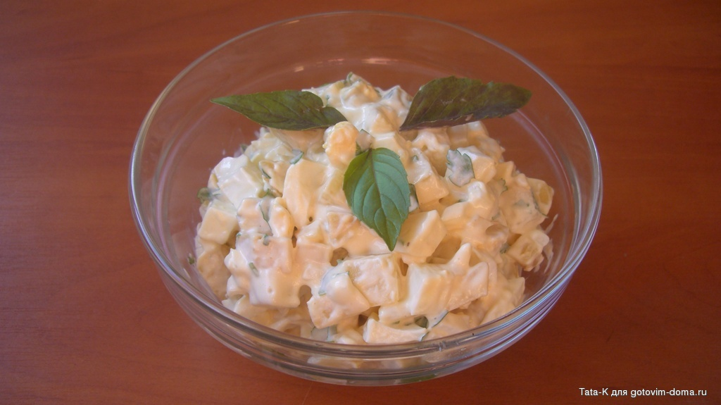 Салаты из картошки рецепты с фото простые