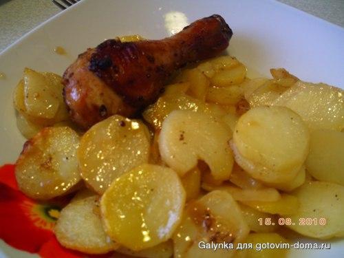 Рецепт курица картошка в аэрогриле