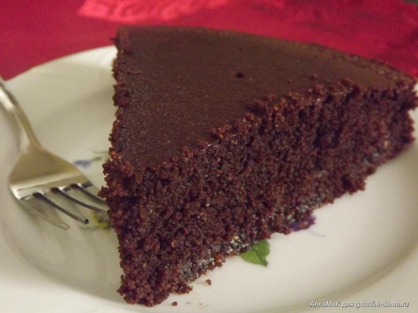 Шоколадный манник рецепт фото пошагово