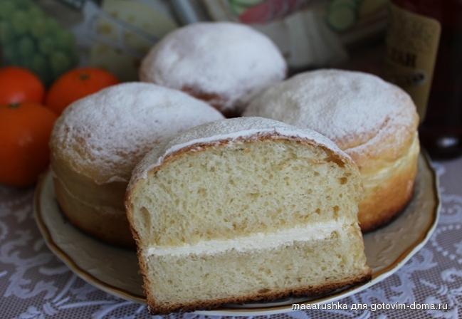 Невская булочка рецепт с фото