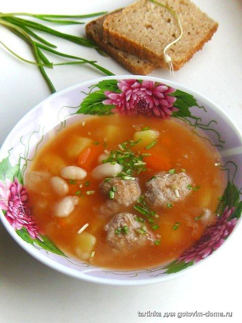 Готовим дома суп с фасолью