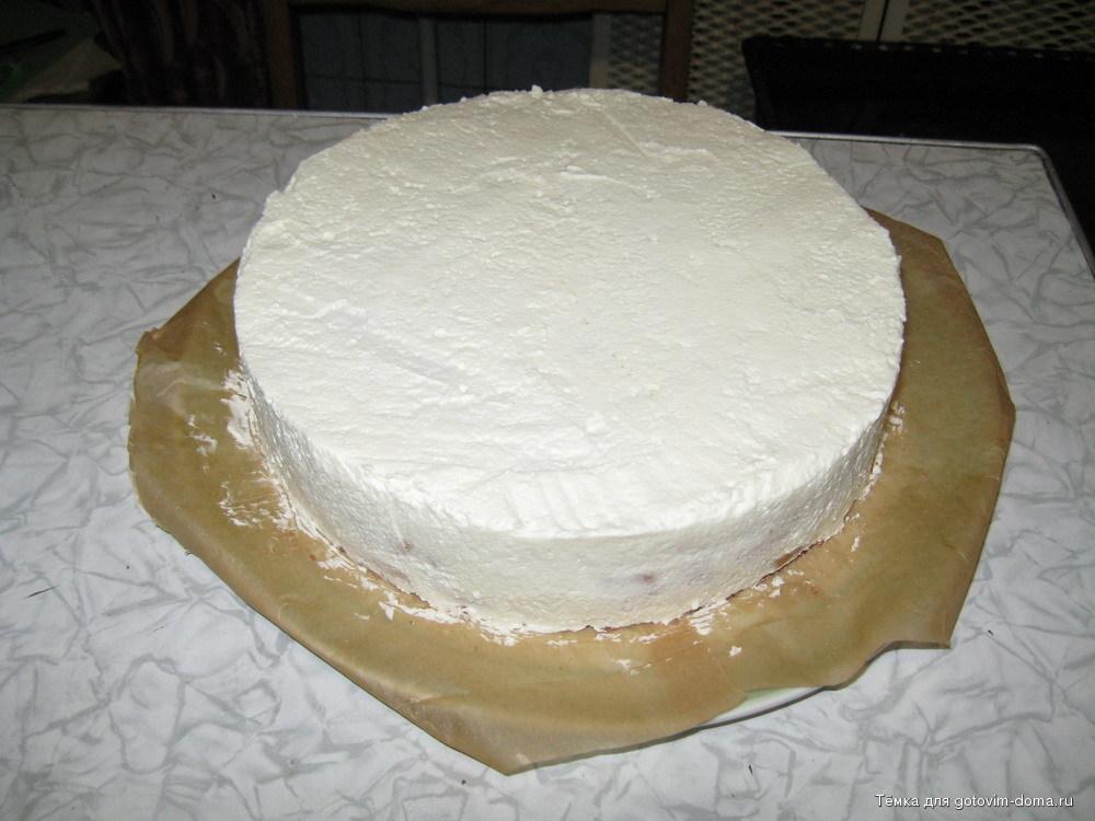 Бисквитные торты рецепты с кремом